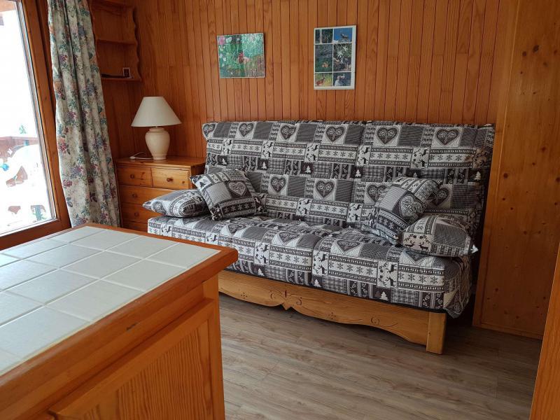 Location au ski Appartement 2 pièces coin montagne 6 personnes (026CL) - Résidence le Chardonnet - Champagny-en-Vanoise - Canapé