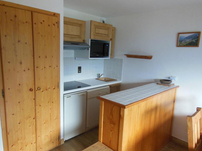 Location au ski Appartement 2 pièces coin montagne 6 personnes (026CL) - Résidence le Chardonnet - Champagny-en-Vanoise - Kitchenette