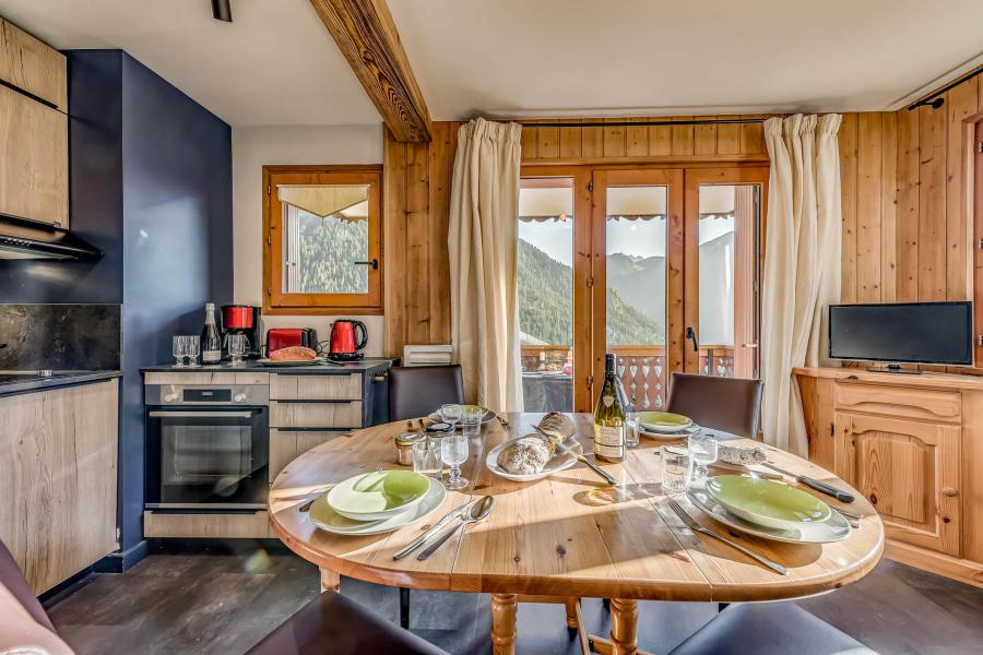 Location au ski Appartement 3 pièces 6 personnes (052CL) - Résidence le Chardonnet - Champagny-en-Vanoise - Lits superposés