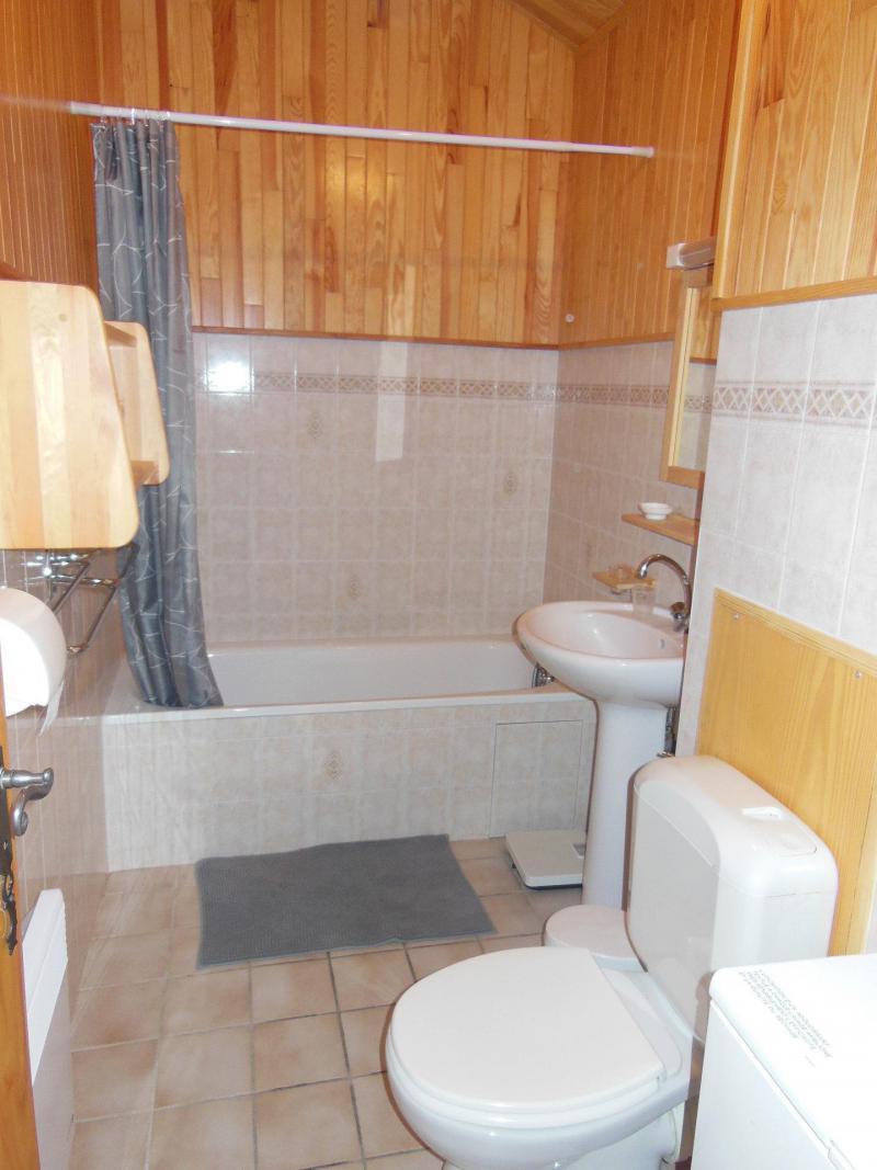 Location au ski Appartement 3 pièces cabine 6 personnes (033CL) - Résidence le Chardonnet - Champagny-en-Vanoise - Baignoire