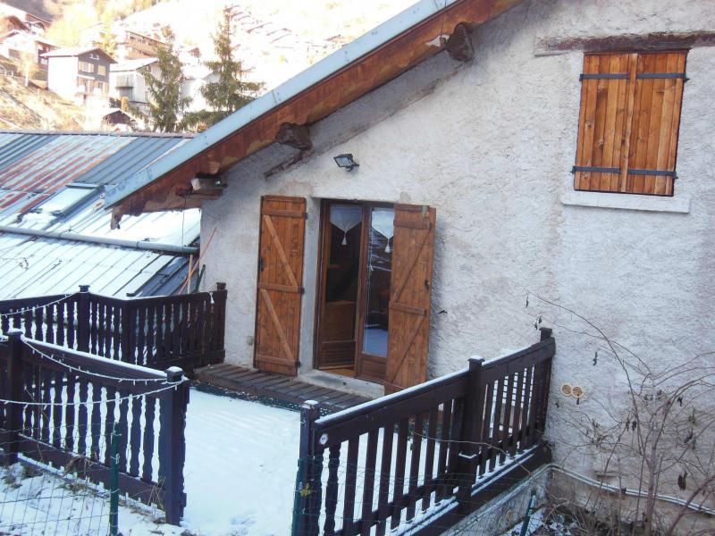 Soggiorno sugli sci Résidence le Dahu - Champagny-en-Vanoise - Esteriore inverno