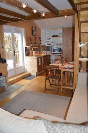 Soggiorno sugli sci Appartamento 3 stanze con mezzanino per 6 persone - Résidence le Dahu - Champagny-en-Vanoise