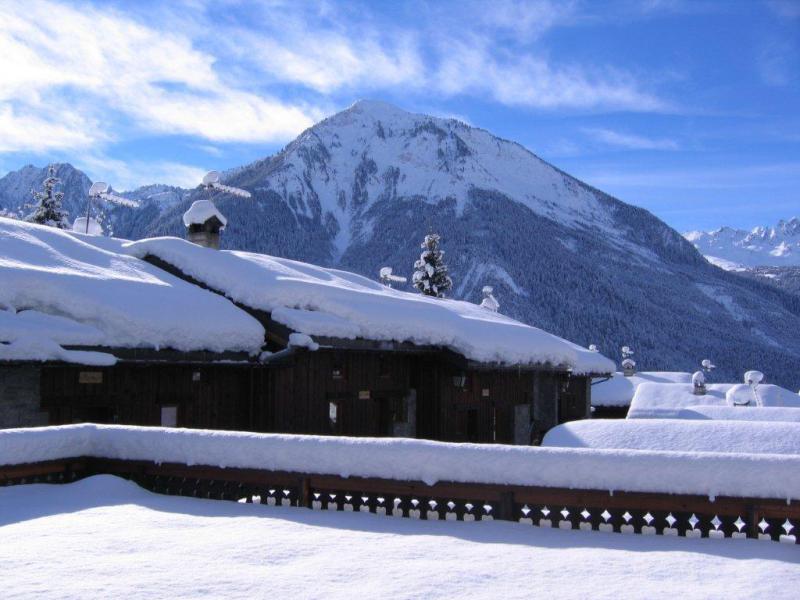 Vacances en montagne Chalet 7 pièces 12 personnes (IsardCH) - Résidence le Hameau des Rochers - Champagny-en-Vanoise - Extérieur hiver