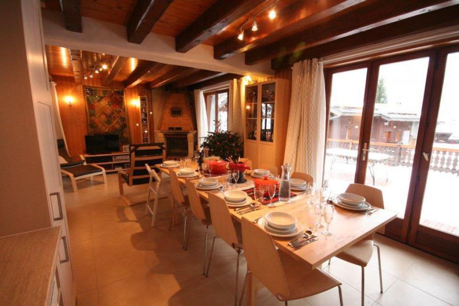 Ski verhuur Chalet 7 kamers 12 personen (IsardCH) - Résidence le Hameau des Rochers - Champagny-en-Vanoise - Tafel