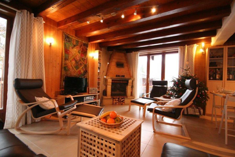 Location au ski Chalet 7 pièces 12 personnes (IsardCH) - Résidence le Hameau des Rochers - Champagny-en-Vanoise - Séjour