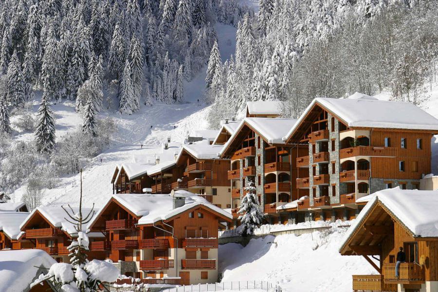 Vacances en montagne Résidence le Roselin - Champagny-en-Vanoise - Extérieur hiver