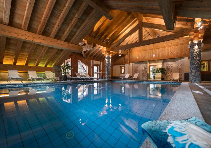 Location au ski Residence Les Alpages De Champagny - Champagny-en-Vanoise - Piscine
