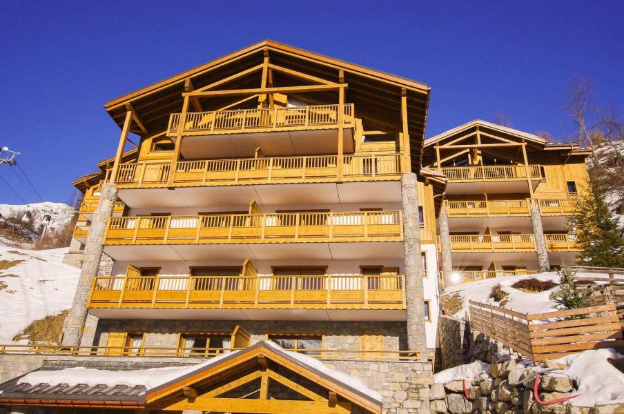 Location au ski Résidence les Balcons Etoilés - Champagny-en-Vanoise - Extérieur hiver