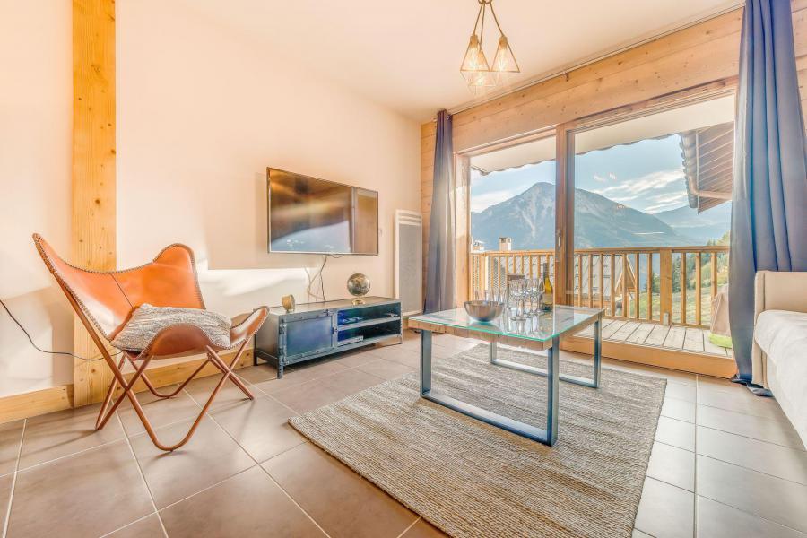 Location au ski Appartement 2 pièces 4 personnes (B11) - Résidence les Balcons Etoilés - Champagny-en-Vanoise - Séjour