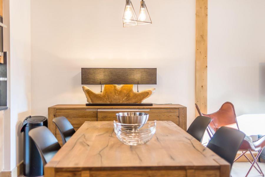 Location au ski Appartement 2 pièces 4 personnes (B11) - Résidence les Balcons Etoilés - Champagny-en-Vanoise - Table