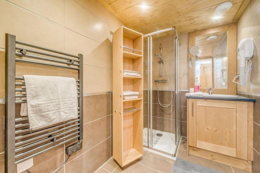 Location au ski Appartement 2 pièces mezzanine 6 personnes (B15) - Résidence les Balcons Etoilés - Champagny-en-Vanoise - Douche