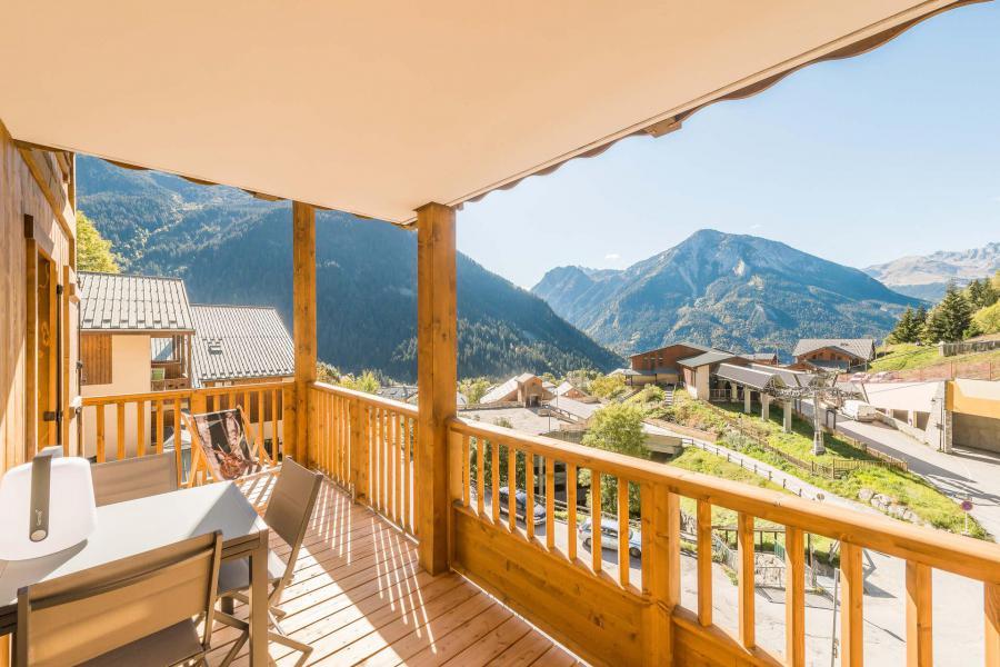 Location au ski Appartement 3 pièces 6 personnes (A07) - Résidence les Balcons Etoilés - Champagny-en-Vanoise - Balcon