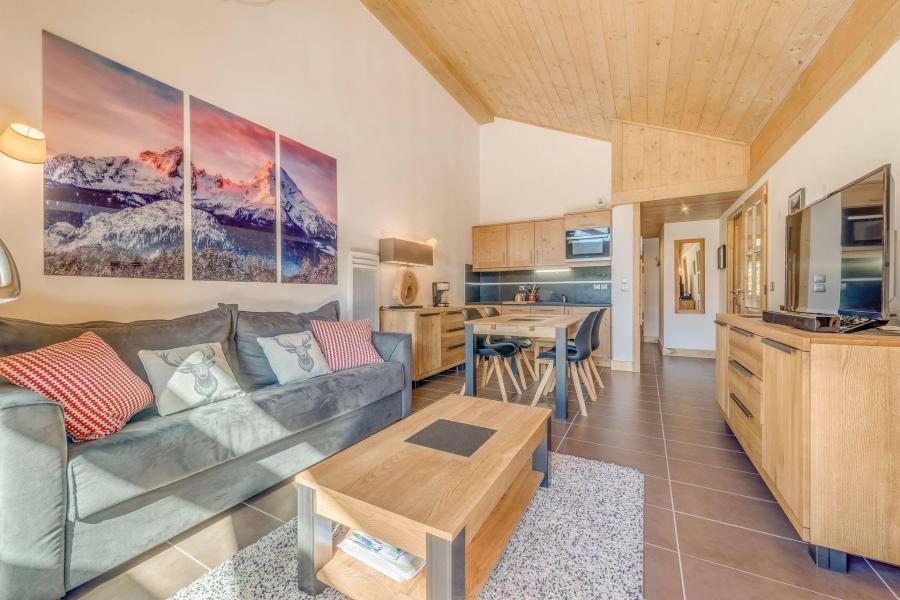 Location au ski Appartement 3 pièces 6 personnes (A12) - Résidence les Balcons Etoilés - Champagny-en-Vanoise - Séjour