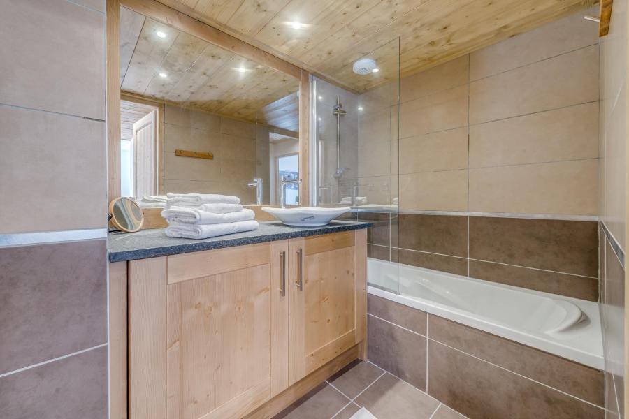Location au ski Appartement 3 pièces 6 personnes (A19) - Résidence les Balcons Etoilés - Champagny-en-Vanoise - Baignoire