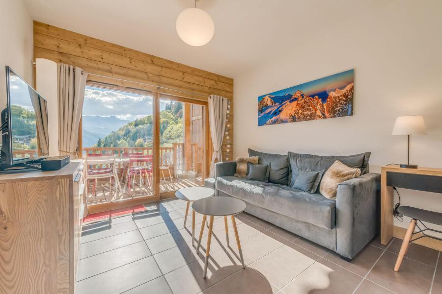 Location au ski Appartement 3 pièces 6 personnes (A19) - Résidence les Balcons Etoilés - Champagny-en-Vanoise - Séjour