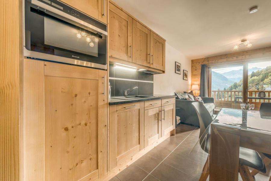 Location au ski Appartement 3 pièces 6 personnes (B09) - Résidence les Balcons Etoilés - Champagny-en-Vanoise - Kitchenette