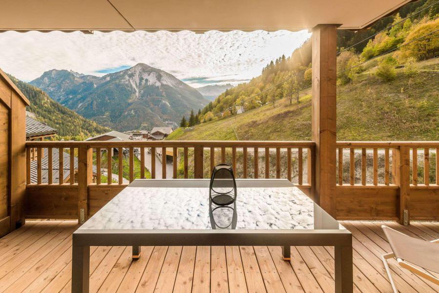 Location au ski Appartement 3 pièces 6 personnes (B09) - Résidence les Balcons Etoilés - Champagny-en-Vanoise - Terrasse