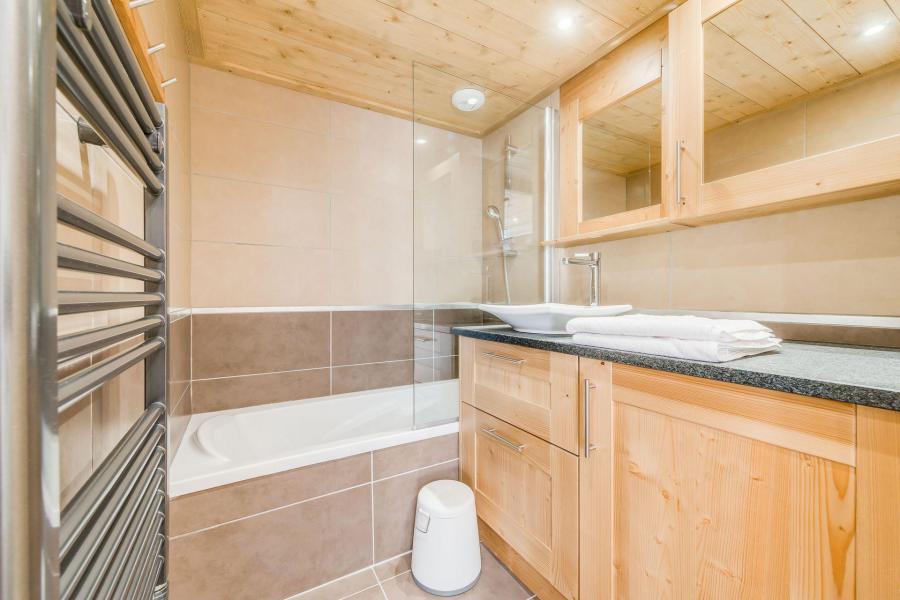 Location au ski Appartement 3 pièces 6 personnes (B12) - Résidence les Balcons Etoilés - Champagny-en-Vanoise - Baignoire