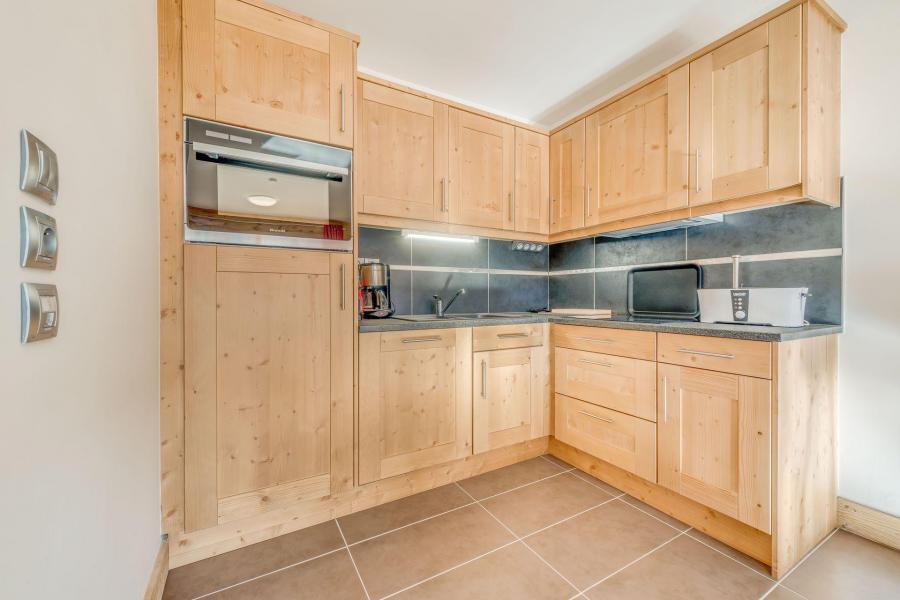 Location au ski Appartement 3 pièces 6 personnes (B12) - Résidence les Balcons Etoilés - Champagny-en-Vanoise - Kitchenette