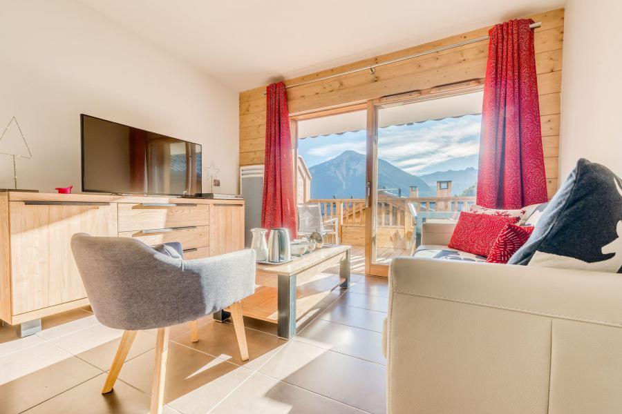 Location au ski Appartement 3 pièces 6 personnes (B12) - Résidence les Balcons Etoilés - Champagny-en-Vanoise - Séjour