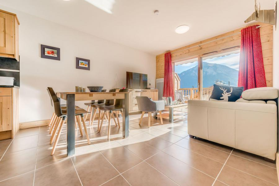 Location au ski Appartement 3 pièces 6 personnes (B12) - Résidence les Balcons Etoilés - Champagny-en-Vanoise - Table