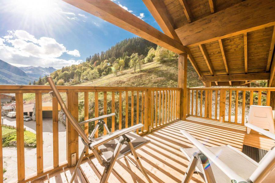 Location au ski Appartement 4 pièces 8 personnes (A13) - Résidence les Balcons Etoilés - Champagny-en-Vanoise - Balcon