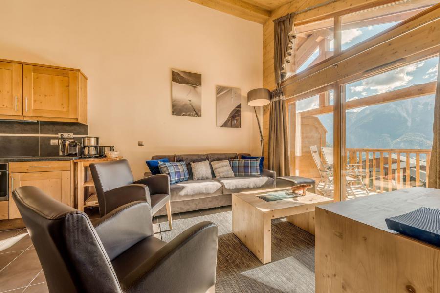 Location au ski Appartement 4 pièces 8 personnes (A13) - Résidence les Balcons Etoilés - Champagny-en-Vanoise - Canapé