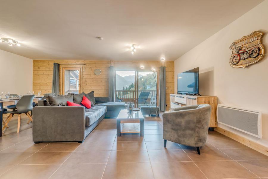 Location au ski Appartement 4 pièces 8 personnes (B03) - Résidence les Balcons Etoilés - Champagny-en-Vanoise - Séjour