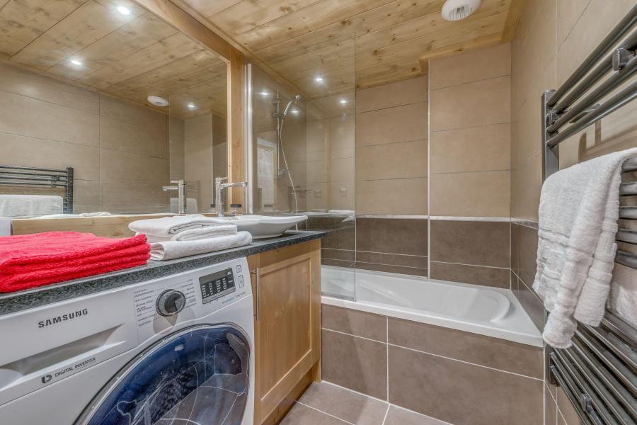 Location au ski Appartement 4 pièces 8 personnes (B21) - Résidence les Balcons Etoilés - Champagny-en-Vanoise - Salle de bains