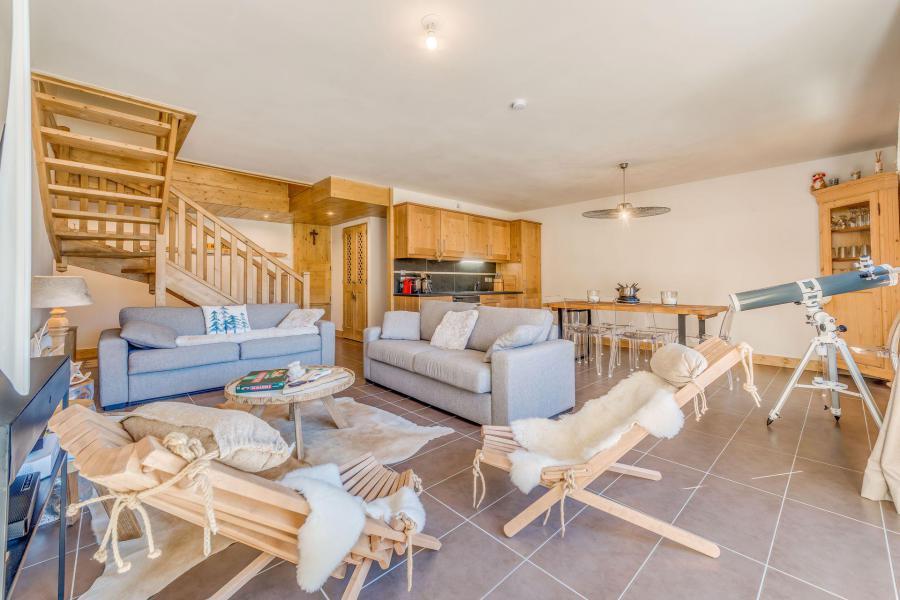 Location au ski Appartement duplex 4 pièces 10 personnes (B24) - Résidence les Balcons Etoilés - Champagny-en-Vanoise - Canapé