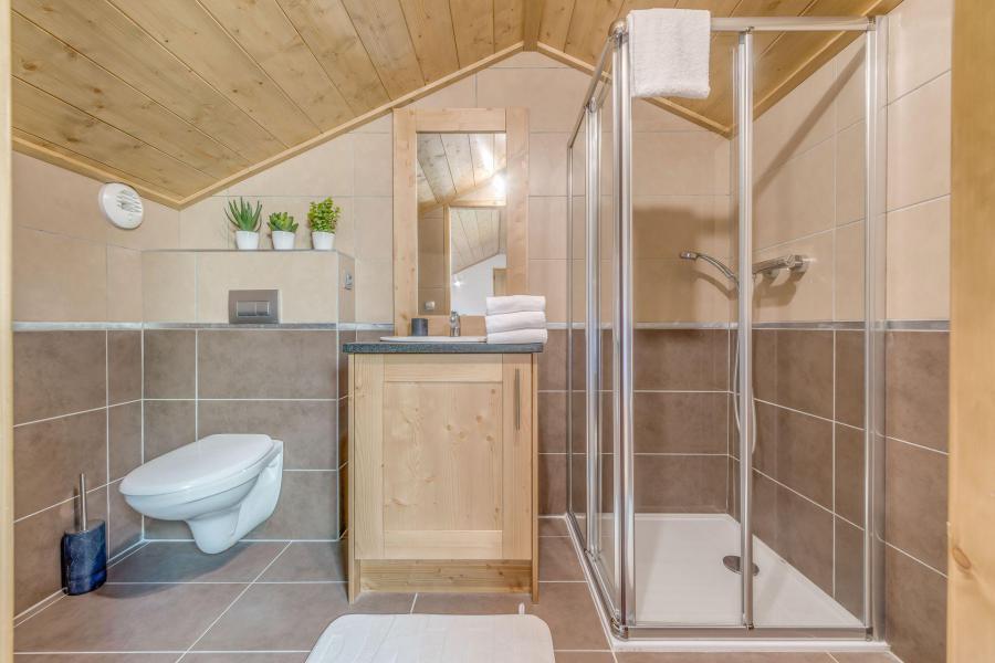 Location au ski Appartement duplex 4 pièces 10 personnes (B24) - Résidence les Balcons Etoilés - Champagny-en-Vanoise - Douche