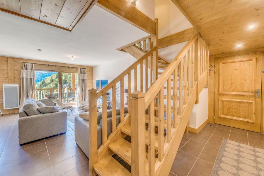 Location au ski Appartement duplex 4 pièces 10 personnes (B24) - Résidence les Balcons Etoilés - Champagny-en-Vanoise - Escalier