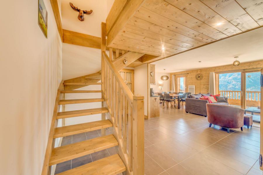 Location au ski Appartement duplex 4 pièces 8 personnes (B20) - Résidence les Balcons Etoilés - Champagny-en-Vanoise - Escalier