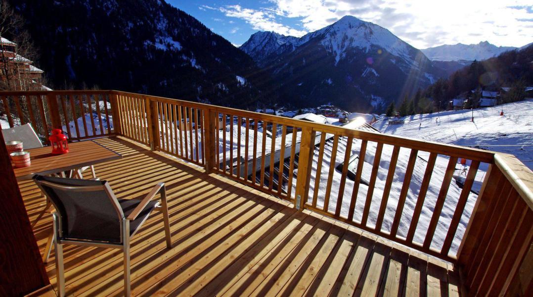 Location au ski Résidence les Balcons Etoilés - Champagny-en-Vanoise - Balcon