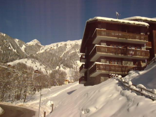 Location au ski Résidence les Clarines - Champagny-en-Vanoise - Extérieur hiver