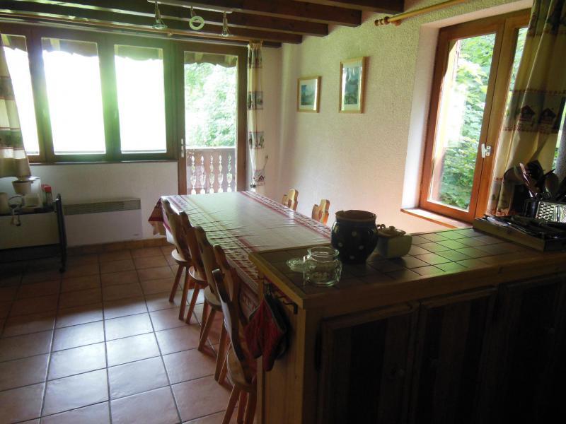 Skiverleih 5 Zimmer Maisonettewohnung für 8 Personen (A019CL) - Résidence les Clarines - Champagny-en-Vanoise - Tisch