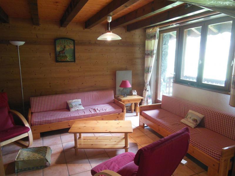 Skiverleih 5 Zimmer Maisonettewohnung für 8 Personen (A019CL) - Résidence les Clarines - Champagny-en-Vanoise - Wohnzimmer