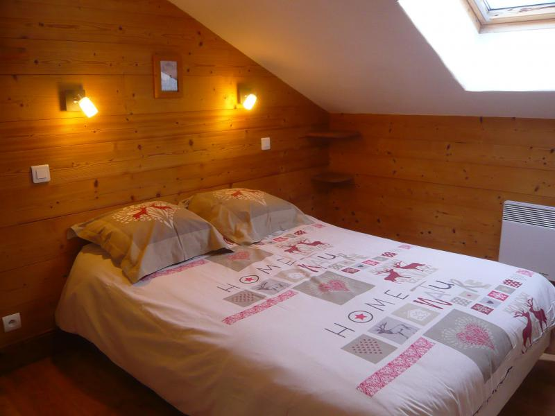 Rent in ski resort 3 room chalet 7 people - Résidence les Edelweiss - Champagny-en-Vanoise - Bedroom
