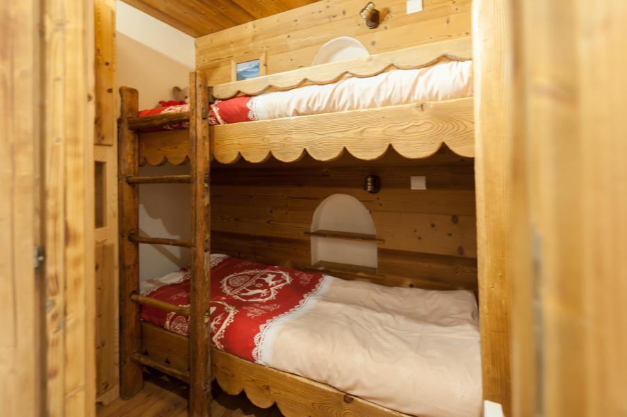 Location au ski Appartement 3 pièces 4 personnes - Résidence les Edelweiss - Champagny-en-Vanoise - Lits superposés