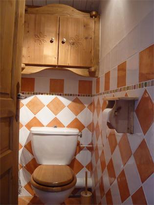 Location au ski Appartement 3 pièces 5 personnes - Résidence les Edelweiss - Champagny-en-Vanoise - Wc séparé