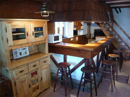 Location au ski Chalet mitoyen 3 pièces mezzanine 6-8 personnes - Résidence les Edelweiss - Champagny-en-Vanoise - Cuisine