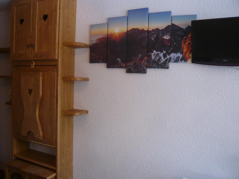Аренда на лыжном курорте Квартира студия для 2 чел. - Résidence les Edelweiss - Champagny-en-Vanoise - Коридор
