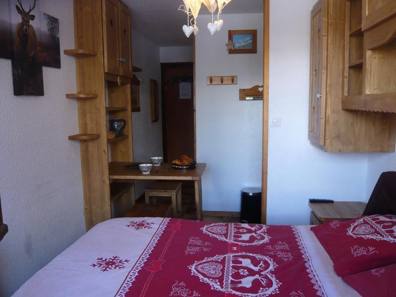 Аренда на лыжном курорте Квартира студия для 2 чел. - Résidence les Edelweiss - Champagny-en-Vanoise - Двухспальная кровать