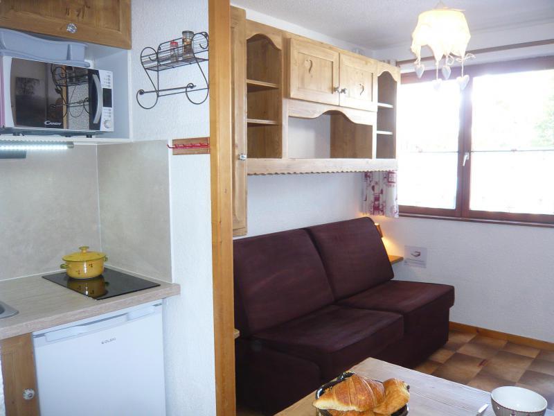 Аренда на лыжном курорте Квартира студия для 2 чел. - Résidence les Edelweiss - Champagny-en-Vanoise - Салон