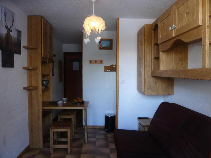 Аренда на лыжном курорте Квартира студия для 2 чел. - Résidence les Edelweiss - Champagny-en-Vanoise - Стол