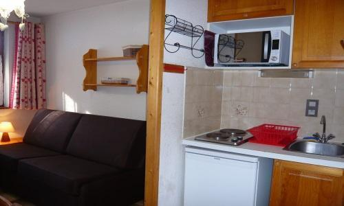 Location au ski Studio 2 personnes - Résidence les Edelweiss - Champagny-en-Vanoise - Kitchenette
