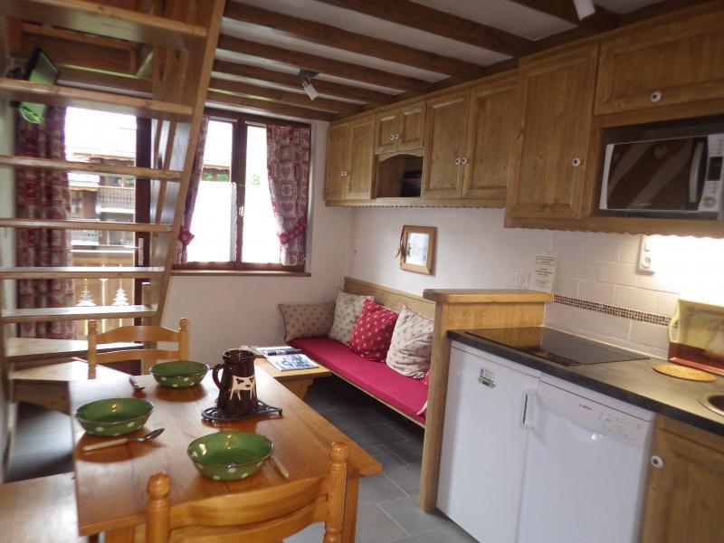 Location au ski Studio 3 personnes (Confort) - Résidence les Edelweiss - Champagny-en-Vanoise - Cuisine ouverte
