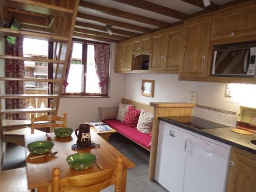 Location au ski Studio 3 personnes (Confort) - Résidence les Edelweiss - Champagny-en-Vanoise - Kitchenette