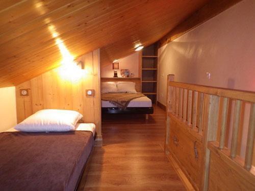 Location au ski Studio 3 personnes (Confort) - Résidence les Edelweiss - Champagny-en-Vanoise - Lit simple