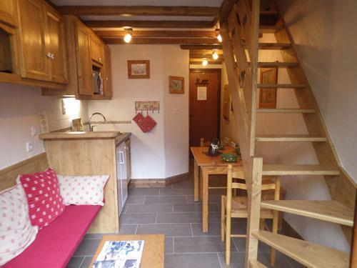 Location au ski Studio 3 personnes (Confort) - Residence Les Edelweiss - Champagny-en-Vanoise - Séjour